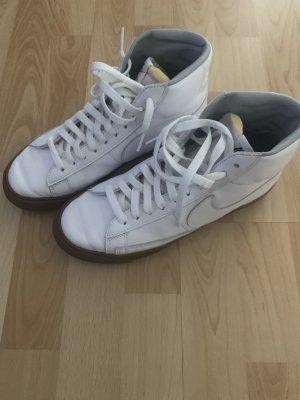 Nike Skaterschoenen wit