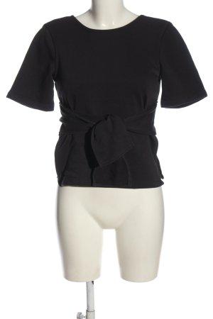 Nike U-Boot-Shirt schwarz Casual-Look