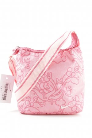 Nike Umhängetasche pink Allover-Druck Casual-Look