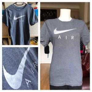 Nike T-shirt gris-argenté