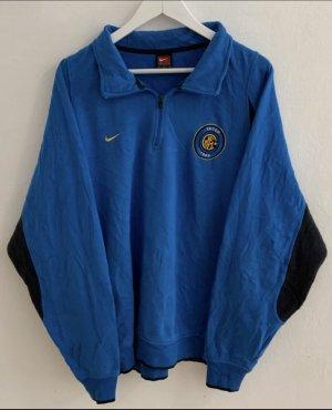 Nike Vintage 1/4 Zip / Inter Mailand /Applikationen gestickt / Centerswoosh auf der Rückseite /
