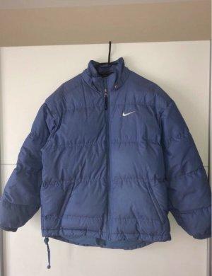 Nike Vintage Blaue Daunenjacke