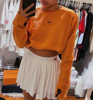 Nike Pull polaire orange-bleu foncé