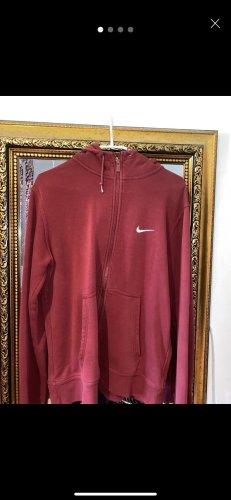Nike Gilet de sport rouge carmin