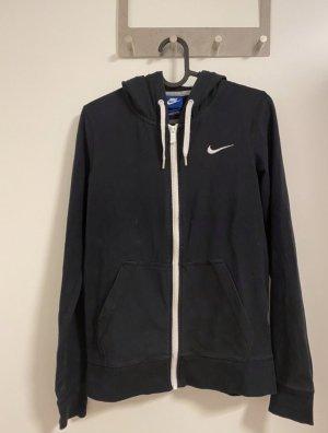 Nike Capuchon vest zwart-wit