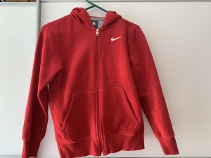 Nike Smanicato con cappuccio rosso