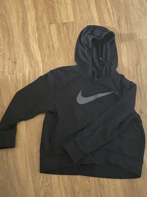 Nike Gilet à capuche noir-gris clair