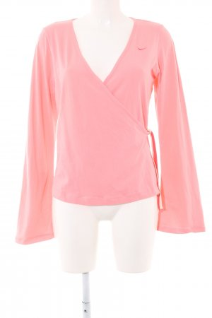 Nike Maglietta aderente rosa stile professionale