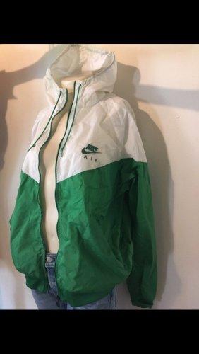 Nike Coupe-vent blanc-vert forêt