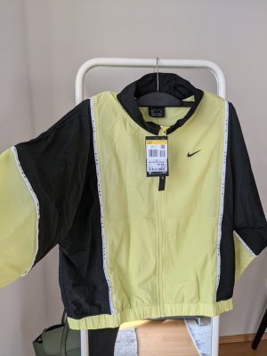 Nike Sports Jacket black-neon yellow