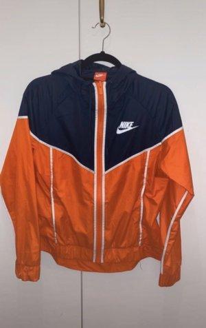 Nike Outdoor jack oranje-donkerblauw