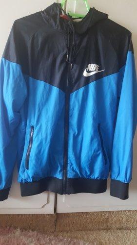 Nike Giacca a vento nero-blu