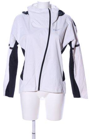 Nike Giacca a vento bianco-nero stile casual