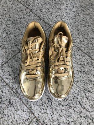 Nike WMNS Air MAX 90 SP Gold wie neu