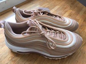 Nike Wmns Air Max 97 Beige 39 Sneaker Schuhe Damen Vintage Weiß