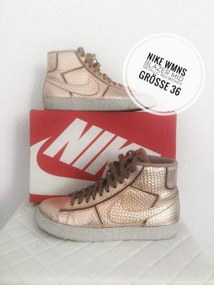 Nike Wysokie trampki brąz