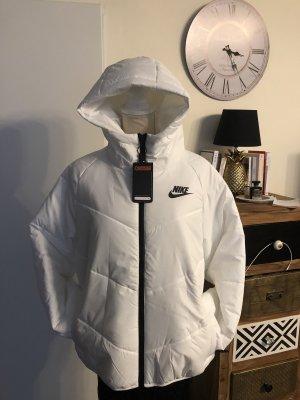 Nike Womans Puffer Jacke M weiß Neu Np 129€