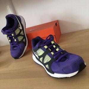 Nike Zoom Fitsole 2 Gr 37,5 lila gelb Schuhe Sneaker Sport Laufschuhe