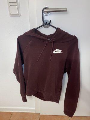 Nike Długi sweter purpurowy