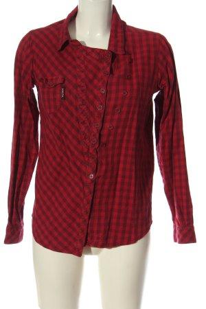 Nikita Koszula w kratę czerwony Na całej powierzchni W stylu biznesowym