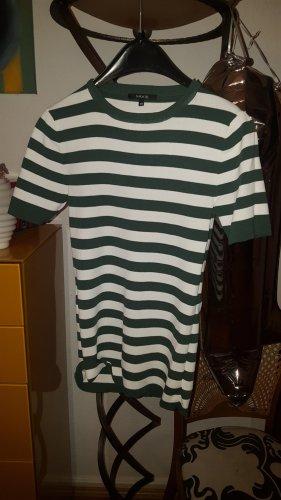 Nikkie Streifen Shirt grün weiss Gr36 (38)