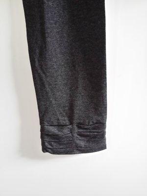 Leggings grigio scuro Tessuto misto