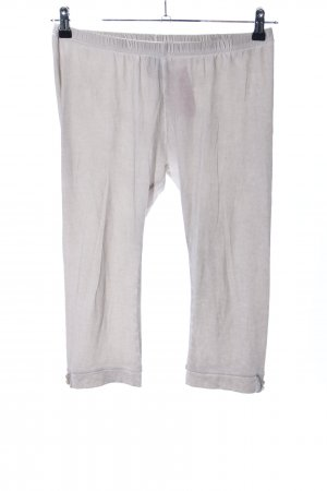 Nile 3/4 Length Trousers light grey flecked casual look