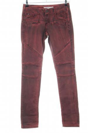 NILE atelier Skinny Jeans rot Casual-Look