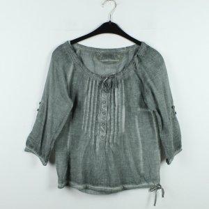 NILE Bluse Gr. XS grau grün  (20/01/104)