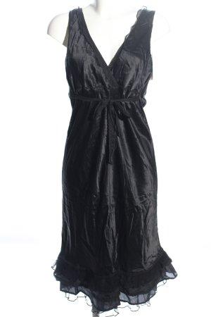 Nile Blusenkleid schwarz Elegant