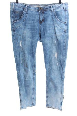 Nile Röhrenjeans blau Casual-Look