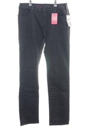 Nile Straight-Leg Jeans schwarz Casual-Look