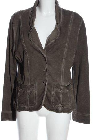 Nile Gebreide blazer bruin casual uitstraling