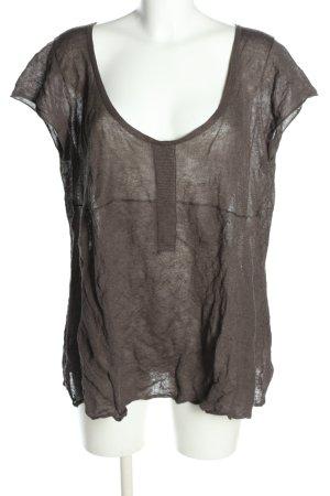 Nile Strickshirt braun Casual-Look