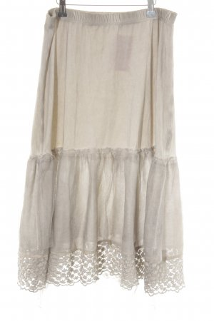 Nile Volanten rok mauve Zigeuner stijl