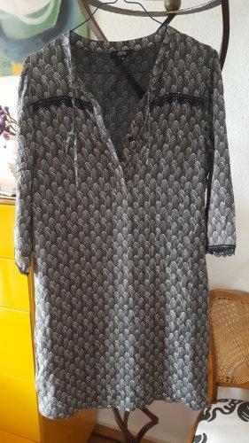 Nina Kalio Kleid schwarz/weiß Spitze Gr36 (38)