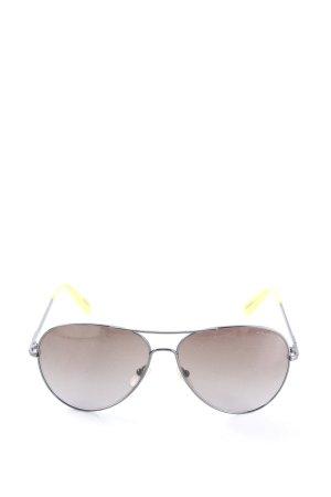 Nina ricci Pilotenbril zwart-sleutelbloem casual uitstraling