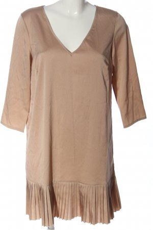 Ninamatita Fringed Dress pink casual look
