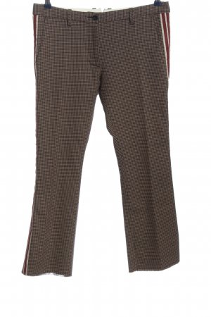 Nine in the morning Baggy Pants braun Allover-Druck Business-Look