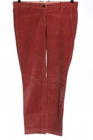 Nine in the morning Cordhose rot Streifenmuster Casual-Look