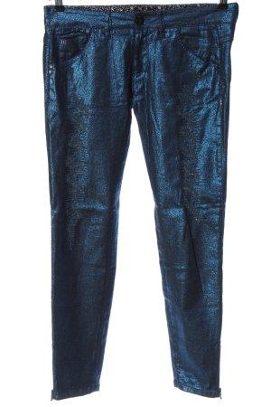 Nine in the morning Pantalon cinq poches bleu style décontracté