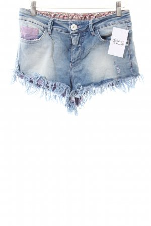 Nine in the morning Jeansshorts hellblau Casual-Look