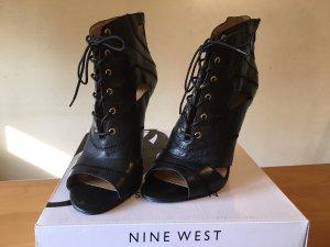 Nine west Peep Toe laarsjes zwart