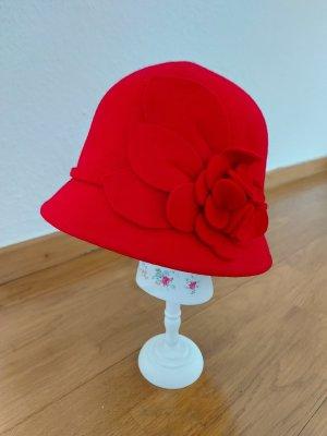 Nine west Chapeau en feutre rouge