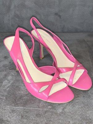 Nine west Sandalias de tiras rosa