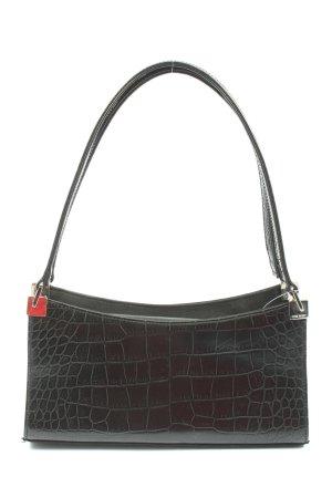 Nine west Carry Bag black animal pattern elegant