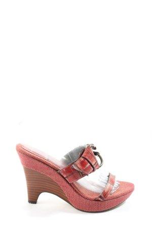 Nine west High Heel Sandaletten Allover-Druck Casual-Look