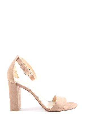 Nine west High Heel Sandaletten nude Casual-Look
