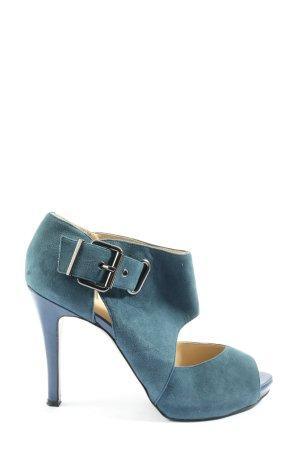 Nine west High Heel Sandaletten blau-silberfarben Casual-Look