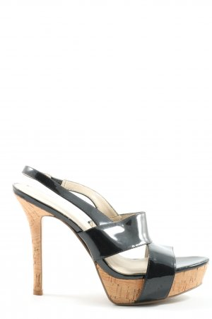 Nine west High Heel Sandaletten schwarz Casual-Look
